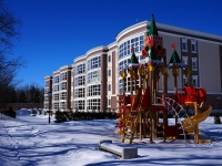 Тольятти, Лесопарковое шоссе, дом 60. многоквартирный дом