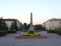 Тольятти, обелиск Славыплощадь Свободы, обелиск Славы