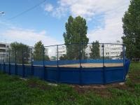 Togliatti, st Vavilov (Povolzhsky village). sports ground
