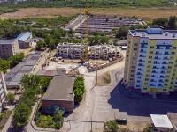 Syzran, avenue 50 let Oktyabrya. building under construction