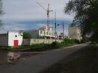 Сызрань, улица Астраханская. строящееся здание