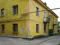 Syzran, Verhnepionerskaya st, house 45А. Apartment house
