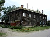 Syzran, st Volodarsky, house 2. Apartment house