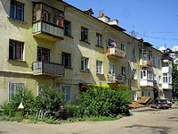 Syzran, Volodarsky st, house 8А. Apartment house
