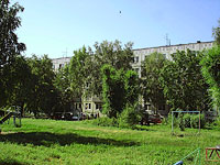 Syzran, Volodarsky st, house 12. Apartment house