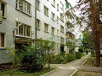 neighbour house: avenue. Gagarin, house 22. Apartment house