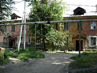 Syzran, Gidroturbinnaya st, house 8. Apartment house