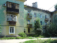 neighbour house: st. Gidroturbinnaya, house 16. Apartment house