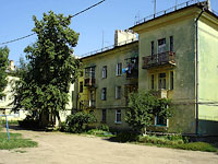 Syzran, Gidroturbinnaya st, house 18. Apartment house