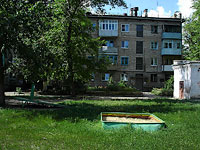 neighbour house: st. Gidroturbinnaya, house 34. Apartment house