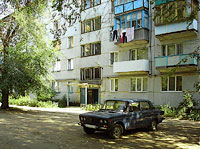 Syzran, Gogol st, house 15. Apartment house