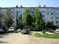 Syzran, Gogol st, house 21. Apartment house
