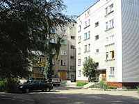 Syzran, Gogol st, house 22. Apartment house