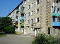 Syzran, Dekabristov st, house 151. Apartment house