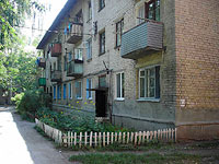 Syzran, Dekabristov st, house 175. Apartment house