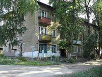 Syzran, Dekabristov st, house 179. Apartment house