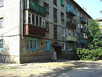 neighbour house: st. Dekabristov, house 183. Apartment house