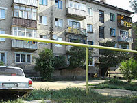 Syzran, Dekabristov st, house 362. Apartment house