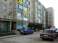 Syzran, Dekabristov st, house 372. Apartment house
