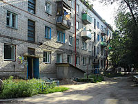 neighbour house: st. Dekabristov, house 390. Apartment house