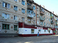 Syzran, Dekabristov st, house 390. Apartment house