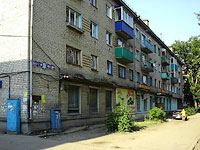 Syzran, Dekabristov st, house 392. Apartment house