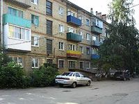 Syzran, Dekabristov st, house 394. Apartment house