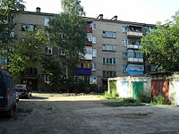 neighbour house: st. Dekabristov, house 400. Apartment house
