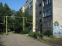 neighbour house: st. Dekabristov, house 424. Apartment house