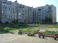 Syzran, Dekabristov st, house 430. Apartment house