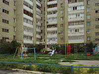Syzran, Dzerzhinsky st, house 11. Apartment house