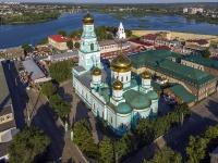 Сызрань, Достоевского переулок, дом 17. собор Казанский кафедральный собор