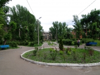 Сызрань, улица Лазо. сквер им. А.Н. Островского