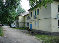 Syzran, Kadrovaya st, house 38. Apartment house