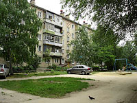 Syzran, Karl Marks st, house 113. Apartment house
