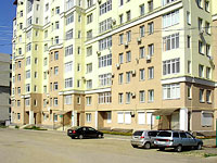 Syzran, Kirov st, house 75. Apartment house