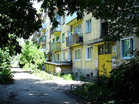 neighbour house: st. Kirov, house 76. Apartment house