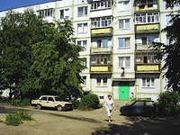 Syzran, Kirov st, house 94. Apartment house