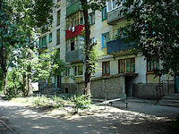 Syzran, Krasilnikov st, house 46. Apartment house