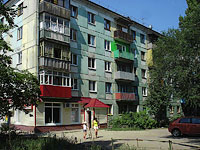 Syzran, Krasilnikov st, house 48. Apartment house