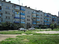 neighbour house: st. Krasilnikov, house 61. Apartment house