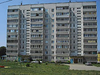 Syzran, Krasilnikov st, house 67. Apartment house