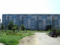 Syzran, Krasilnikov st, house 69. Apartment house