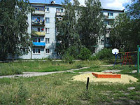 neighbour house: st. Lokomobilnaya, house 3. Apartment house