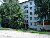 neighbour house: st. Lokomobilnaya, house 5. Apartment house