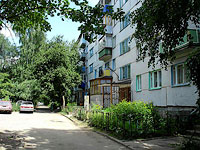 neighbour house: st. Lokomobilnaya, house 7. Apartment house