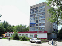 Syzran, Lokomobilnaya st, house 11. Apartment house