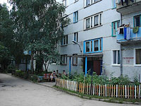 Syzran, Lokomobilnaya st, house 13. Apartment house