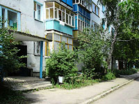 Syzran, Lokomobilnaya st, house 23. Apartment house