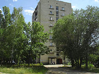 Syzran, Lokomobilnaya st, house 25. Apartment house